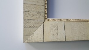 4 Reclaimed Distressed Ivory or White
