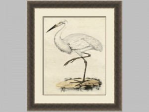 66028z Antique Heron 3 28x34 105.00
