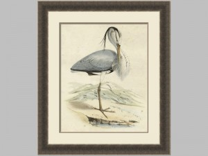 66029z Antique Heron 4 28x34 105.00