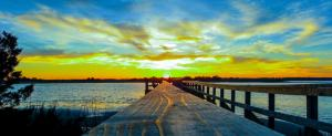 Cape Fear ,River Road Pier Enhanced