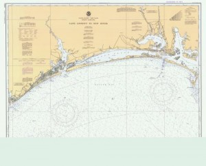 Cape Lookout to New River 1981 custom sizes available