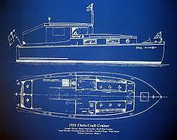 Chris Craft Cruiser Blueprint 1