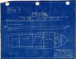 Chris Craft Cruiser Blueprint 2