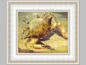 Crab on Yellow sand