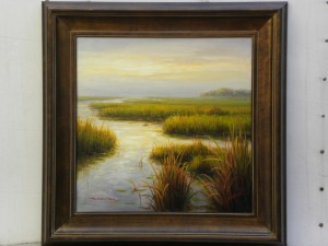 Golden Marsh , Brunell 30x40