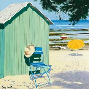 Green Beach Hut, H.Duell