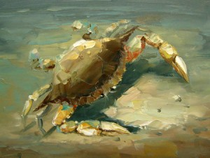 Green Crab 24x30 or 30x40