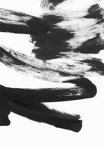 Lehnhardt  Black and White Strokes 5