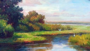 Lowcountry Marsh Afternoon 28x42
