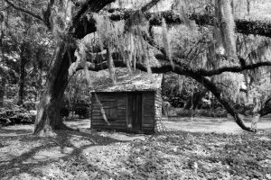 Lowcountry Shed bw
