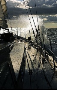 FOREDECK SUNSET