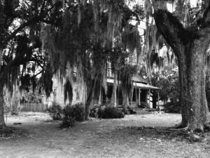 Old House bw 24x30