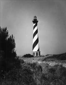 Outer Banks History Collection 26 Hatteras light