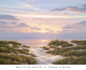 Pathway to the Sea V196 Von Genk