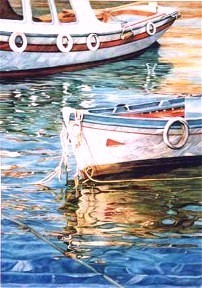 elaine hahn greek fishing boats