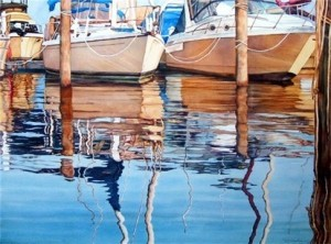 elaine hahn marina reflections