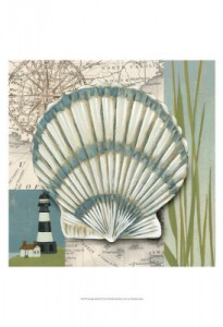 Seaside Shell 2 20x20 47.50
