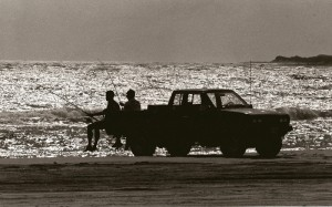 Truck in Surf Silouette