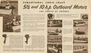 Vintage Chris-Craft and Water Skiing 36
