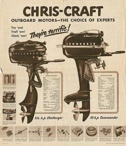 Vintage Chris-Craft and Water Skiing 37