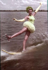 Vintage Chris-Craft and Water Skiing 54