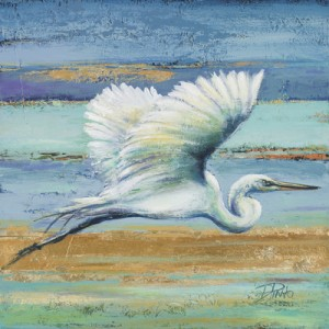 s11048a Great Egret I Patricia Pinto