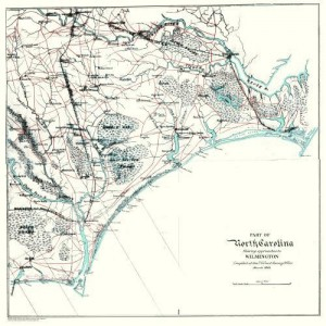 wilmington chart 1864 lighter custom sizes available